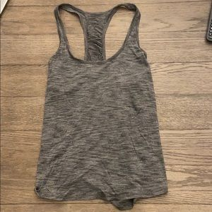 Gray lululemon tank top